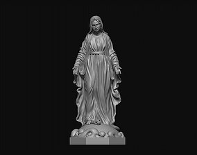 religious Virgin Mary 3D print model