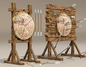 Target by arrow in 3D model realtime