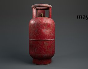 fuel 3D asset VR / AR ready Gas cylinder