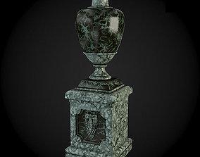 Pedestals 3D exterior