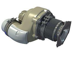Engine Auto Part 3D