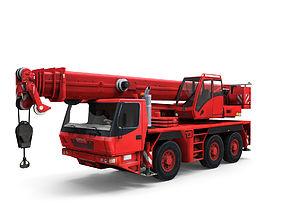 3D asset Mobile auto crane