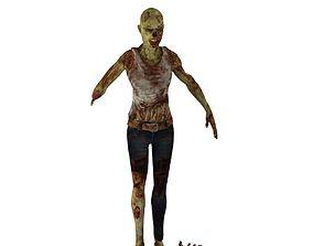 3D model Zombay Girl