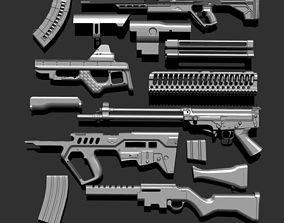 3D IMM GunPack