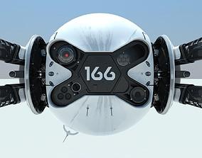 3D printable model Oblivion Drone 166