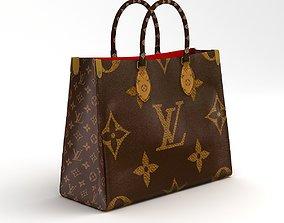 3D model Louis Vuitton Leather Bag