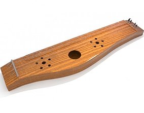 3D model Zither