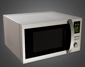 ARV2 - Modern Microwave 01 - PBR Game Ready 3D model