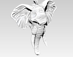 3D print model Elephant Necklace