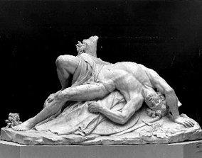 3D model gladiateur mourant