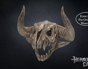 Monster Hunter World - Bone Helmet 3D print model