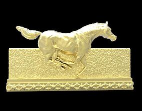 3D printable model Galloping Horse in reliefs horse