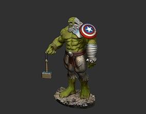 3D print model hulk Maestro