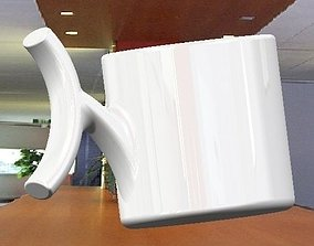 coffee cup espresso cup 3D print model