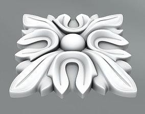 Square decoration 3D