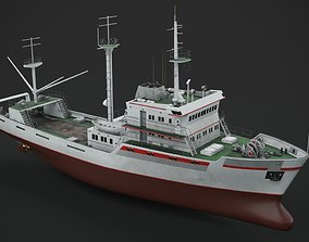 Fishing vessel 3D