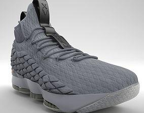 3D Nike LeBron 15 Basketball PBR