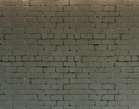 3D model Brick wall Old brick 23