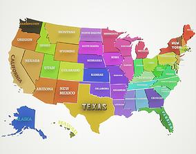 vote United States Of America 3D model