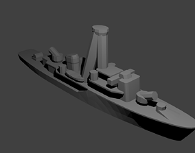 Soviet T-43 Class Minesweeper Warship 3D printable model