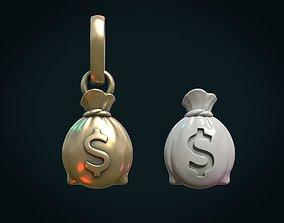 3D print model Money bag usd