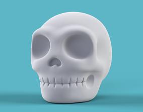 3D printable model Skull Form Art Sculpture