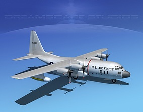 Lockheed C-130 Hercules USAF 1 3D