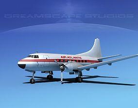 Martin 202 Air Atlantic 3D model