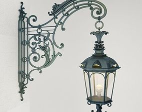 3D model Wrought iron Wall Lamp