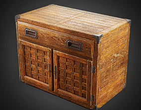 Cabinet - MVL - PBR Game Ready 3D model