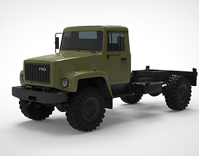 GAZ 3308 Sadko 3D model