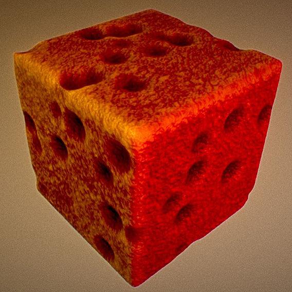 Mutating Cube (Mutation-10) (Blender-2.79b)