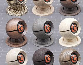 Wood Shader Pack 3D model