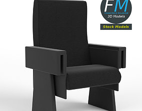Cinema theater armchair 1 3D