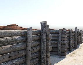 Trenches 3D model