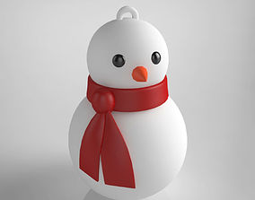 Snowman christmas tree 3D printable model