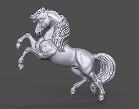 3D print model Horse bas relief