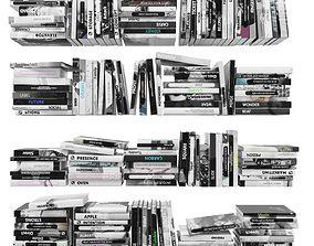 Books 150 pieces 2-4-4 3D model
