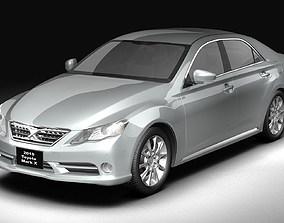 3D 2010 Toyota Mark X