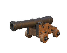 pirate 3D Cannon