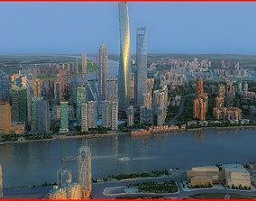 Modern City Animated 145 3D