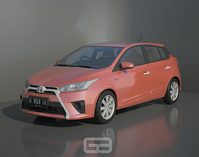 Toyota Yaris Type E 2015 3D Model