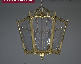 3D model Chandelier of Masiero Brass Spots VE 1 069 S4