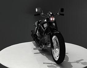 3D Model Harley Motorbike
