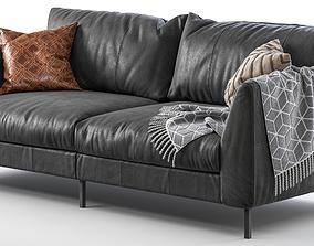 Pohjanmaan Loft sofa 220cm 3D model