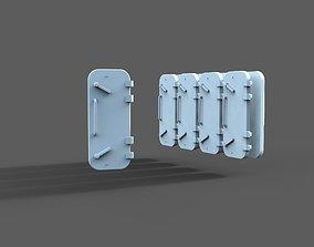 Bulkhead door Typ B 3D printable model