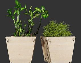 3D model Vee planter