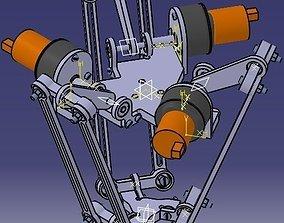 Delta Robot 3D model