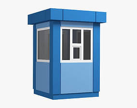 3D Security Booth 01