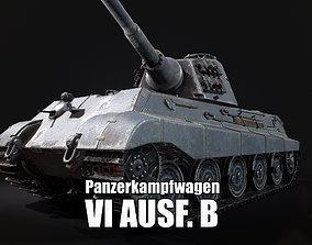 Panzerkampfwagen VI Ausf B Tiger II 3D asset